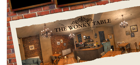 The Wonky Table, Derby